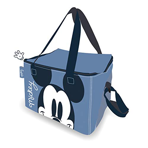 ARDITEX WD13173 Bolsa isotérmica 22.5x15x16.5cm de Disney-Mickey