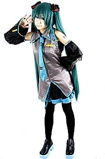 Miccostumes Women's Vocaloid Hatsune Miku Cosplay Costume
