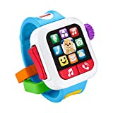 Fisher-Price Laugh & Learn time to Learn smartwatch, Musical Baby Toy, Toggle