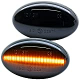rm-style 7233-1 - Intermitente lateral LED para Fortwo 450 452 (modelos de 1998 a 2007), color negro
