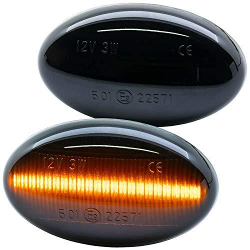 rm-style LED SEITENBLINKER schwarz kompatibel für Fortwo | Typ 450 452 | BJ 1998-2007 [7233-1]