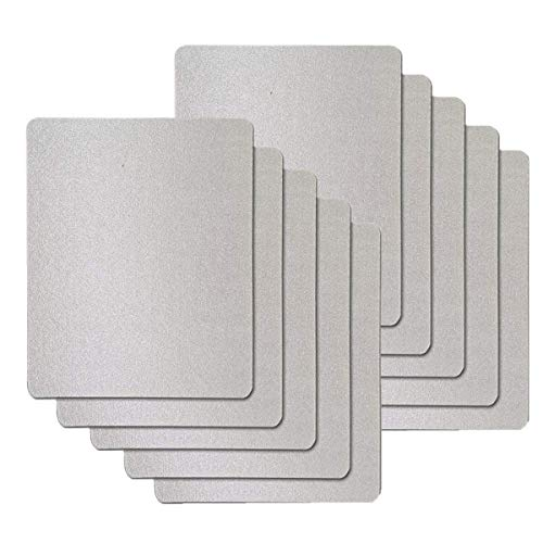 VINFANY 10 PCS Waveguide Cover, Universal Mica Sheet for All Microwave Oven, Cut to Size, 150X120mm, 10 Pack