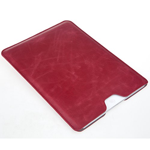 Bear Motion for iPad Mini 4 - Premium Slim Sleeve Case Cover for iPad Mini 4 (Without Other Case on iPad) (Red)