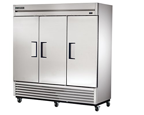 True T-72-HC Reach-in Solid Swing Door Refrigerator with Hydrocarbon Refrigerant, Holds 33 Degree F to 38 Degree F, 78.625' Height, 29.875' Width, 78.125' Length