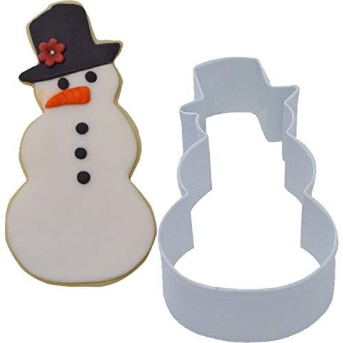 Bonhomme de neige d'hiver de Noël biscuits Biscuit emporte-pièce Fun Famille de cuisson Festive Noël Activité accessoire
