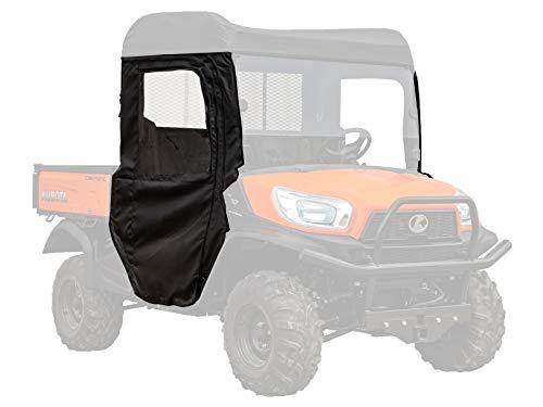 SuperATV Soft Cab Doors for Kubota RTV X900 / X1120 / XG850 - Pair of Front Doors
