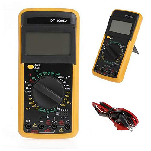 Sale!! MIBIAO Digital multimeter LCD AC/DC Ammeter Resistance Tester