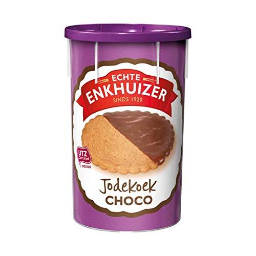 Niederländisches Schokoladenplätzchen   Echte Enkhuizer   Jodekoek 'Choco 18 Kekse   Gesamtgewicht 363 Gramm