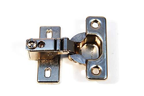 Bisagra de puerta de manga corta, bisagra para muebles, bisagra de armario, cerradura automática 95°