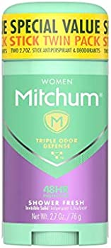 2-Pack Mitchum Antiperspirant Deodorant Stick, 2.7 oz