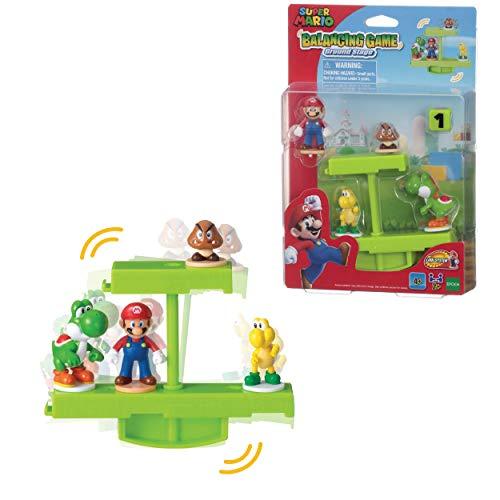 EPOCH GAMES Super Mario Balancing Game Ground Stage, Color Verde (07358)
