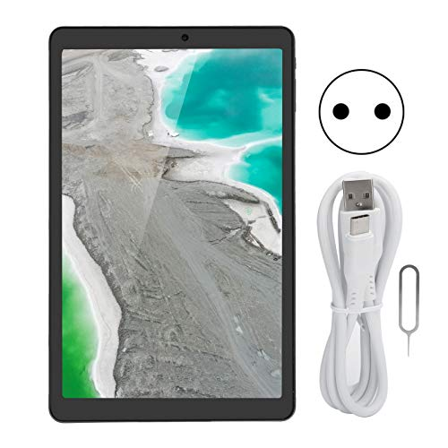 Tableta Android de 10,5 pulgadas, Ocho núcleos, 6 GB de RAM ROM de 128 GB, Computadora tableta con lápiz óptico sensible a la presión y chip gráfico de nivel de juego para uso diario(ENCHUFE DE LA UE)