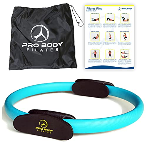 ProBody Pilates Ring - Superior Unbreakable Fitness Magic Circle for Toning Thighs, Abs and Legs