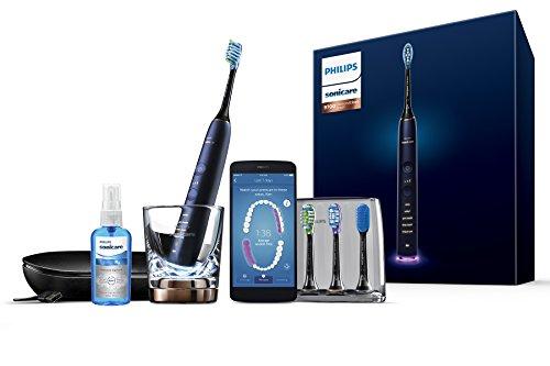 Philips Sonicare DiamondClean - Cepillo de dientes eléctrico inteligente (enchufe de baño de 2 pines versión Reino Unido)