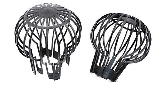 RMB 2er Set Dachrinnen-Filter Fang-Korb für Laub-Schutz