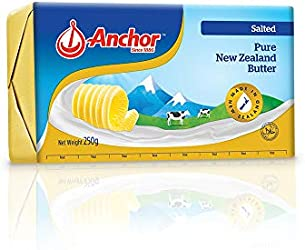 Anchor Salted Butter, 250g - Chilled