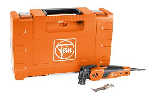 Fein MULTIMASTER MM 700 Max (Multitool mit 5 m Kabel, 450 W, Multifunktionswerkzeug für Holz, Metall, Schleifen usw., inkl. E-Cut-Sägeblatt mit Kunststoffkoffer) 72296862000