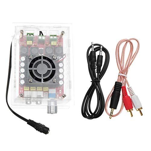 DONDOW De Alta Potencia de energía TDA7498 Junta de amplificación de Audio Digital 2 x 100W con el Caso