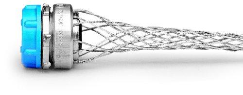 Leviton L7504 3/4-Inch, Straight, Male, Steel Body, Wide-Range Strain-Relief, .520, .730 Cord Range