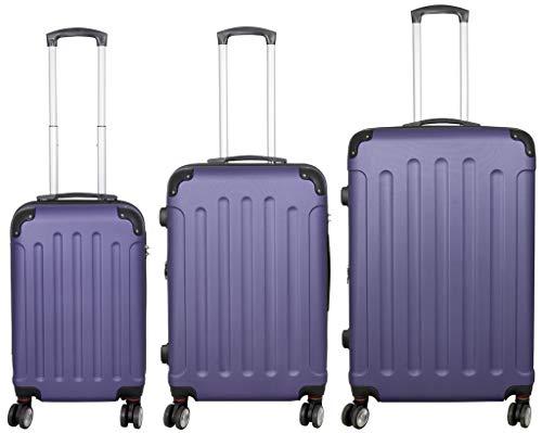 KoTaRu Koffer Avalon Reisekoffer Trolley Blau Größe S