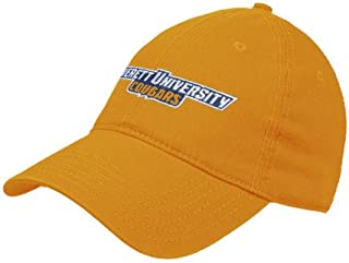 CollegeFanGear Averett Gold Twill Unstructured Low Profile Hat 'Averett University Cougars'
