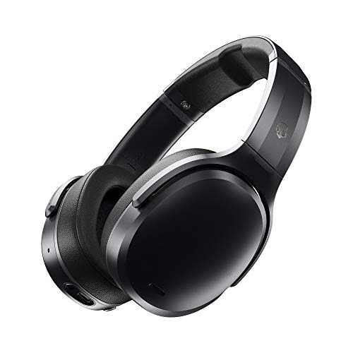 Skullcandy Crusher Active Noise Cancellation Wireless Over-Ear Headphone (Black) (S6CPW-M448)