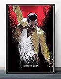 Leinwand Kunst 40x60cm Kein Rahmen Freddie Mercury