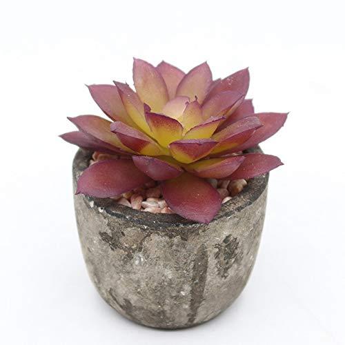 GETSO Vintage-Papier Sukkulente Vase Blumenschmuck Home Decor Sukkulente Pflanze Blumentopf Eimer Blumenvase: ZJP211
