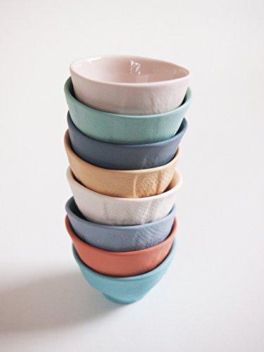Tütei Eierbecher - bunte handgefertigte Eierbecher aus Porzellan