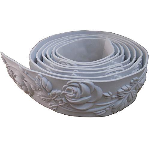 Ceiling Flexible Mouldings Wall Trim Focal Point Edge Furniture Home Decorative Waist Line 2.36' (6cm) x 115'
