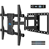 "Mounting Dream Full Motion TV Wall Mount TV Bracket for Most 42-70 Inch TVs, Heavy Duty Design - TV Mount Up to 600mm VESA with 14.8"" Extension Arm,HDMI Cable & Bubble Level MD2295"