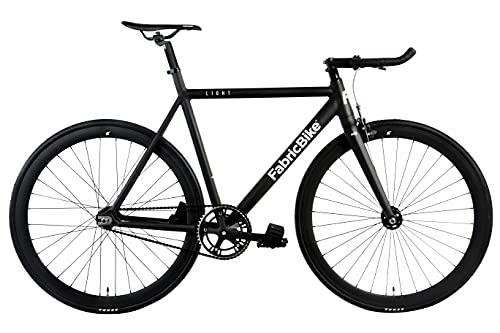 FabricBike Light - Vélo Fixie, Fixed Gear, Single Speed, Cadre et Fourche Aluminium, Roues 28', 3...