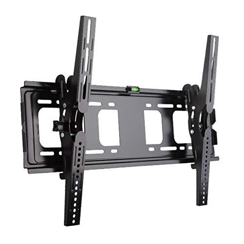 YUNZHI Soporte de Pared para TV para La Mayoría de Televisores Curvos Planos de Plasma LCD con LED de 32-70 Pulgadas, Soporte de Pared Inclinable para TV con Máx. Vesa 700x500mm, hasta 50 Kg,Black