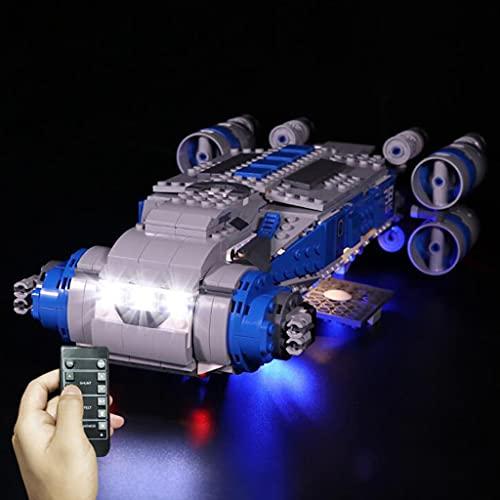 Kit De Iluminación LED Compatible con El Modelo De Bloques De Construcción Lego 75293, Luces De Bricolaje para El Barco De Transporte De Star Wars Resistance Its, No Incluye El Juego Lego