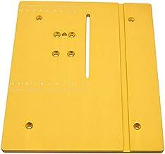ACAMPTAR Panel de sierra circular circular de mesa de mesa con pedal de mesa DIY maquinas de carpintería Mat con escala