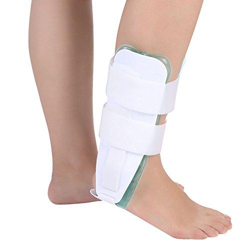 Tobillera, férula de tobillo, estabilizador de pie ajustable para protección de esguinces Herramienta de recuperación de férula de esguince de tobillo para mujeres y hombres