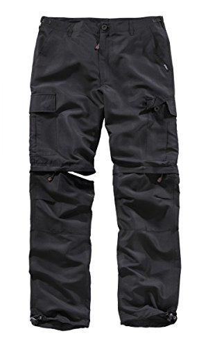 Surplus Outdoor Pantalons Quickdry Noir Taille 5XL