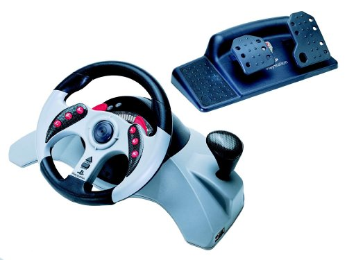 Play Station - Lenkrad Dual Force (Mad Catz)