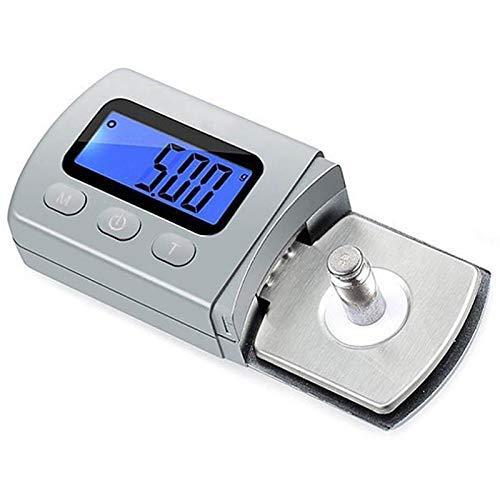 Chenbz Vinilo Phono Aguja Medidor de presión Stylus Disc Aguja Presión Especial Medición de precisión