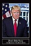 Speaking Thought Présentoirs Donald Trump Poster mit