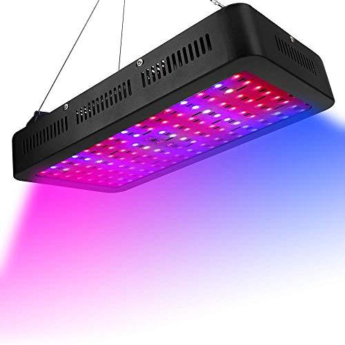 Inicio Equipos Lámpara de crecimiento de plantas 1200W Double Chips LED Luces de cultivo de plantas para plantas de interior Lámpara de luz de cultivo de plantas Ventilador de enfriamiento Sin ruid