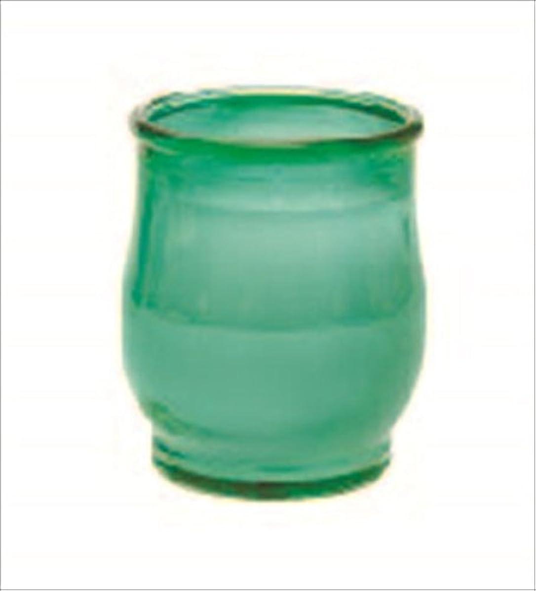 照らすソブリケット土地カメヤマキャンドル(kameyama candle) ポシェ 「 グリーン 」