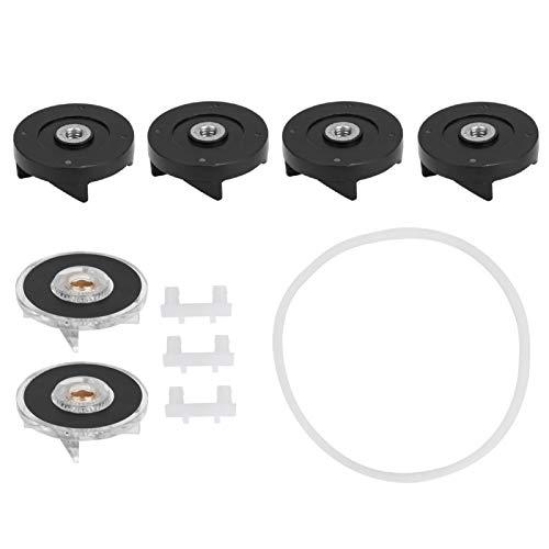 Piezas de repuesto Juntas de engranajes para licuadora Magic Bullet de 250 W, accesorios para licuadora que incluyen engranajes de base, engranajes Balde, cojín, anillo de sello(Group 3)