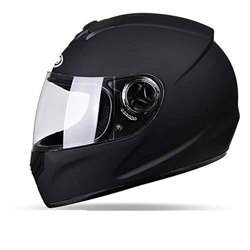 YXDDGt Flip up Dual vizier Full Face helm motorhelm veilig, gezellig, unisex X-Large B