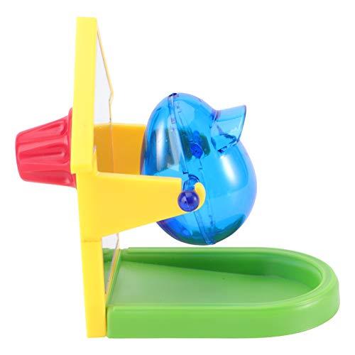 VORCOOL インコ おもちゃ ミニ 餌入れ 知育おもちゃ おやつおもちゃ ケージ固定