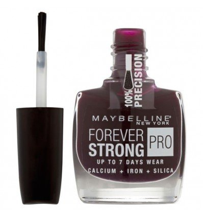 Maybelline Forever Strong Pro Esmalte de uñas 05 Extreme Blackurrent 10 ml