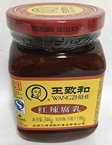 王致和紅辣腐乳 発酵豆腐(辛口) 火鍋調味料・中国特産 業務用 冷凍食品と同梱不可 340g