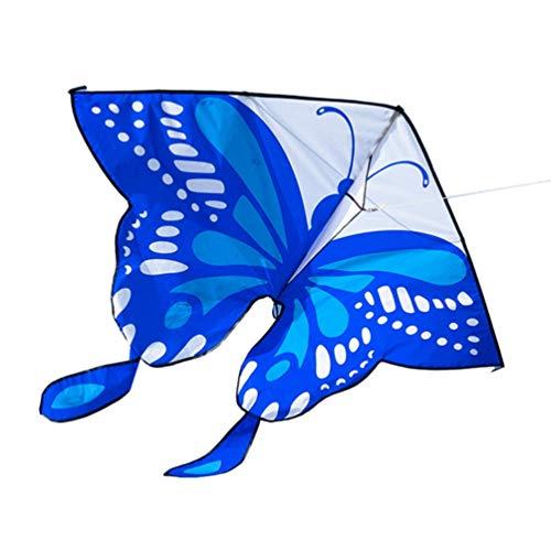 BESPORTBLE Schmetterlingsdrachen Riesen Breiter Drachen Fliegen Outdoor Drachen für Kinder Erwachsene Beach Park Lustiges Fliegendes Spielzeug (Zufällige Farbe)