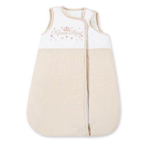 Gigoteuse d'hiver / sac de couchage d'été pour bébé garçon et fille 70 cm Petit prince beige. Kleiner Prinz Beige