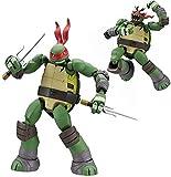 LUSTAR Juguetes de Raphael, Figuras de Tortugas Ninja Mutantes Adolescentes, Figura de Acción de PVC, para Decoración de Escritorio, Modelo de Muñeca de 14 Cm